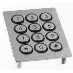 APEM PR Series Stainless Steel Keypads