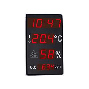 DITEL DC41SRTH0 Thermometer Clock hygrometer CO2