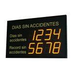 Safety at Work Display - DMSFT02 Series DITEL