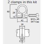 Curtiss Wright SA59661 SLS320 Body Clamp Mounting Kit